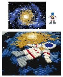 design your own felt ball rug astronaut outer space galaxy solar system