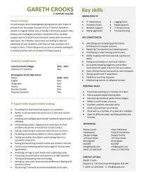 Sensational Ideas It Support Resume 2 It Cv Sample Helpdesk