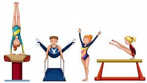 Image result for gymnastics cartoon
