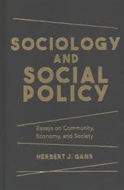 sociology and social policy essays on community economy and  sociology and social policy essays on community economy and society hardcover herbert j gans target