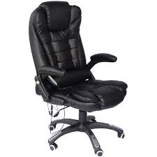 office chair controls. Office-Computer-Chair-Massage-Heat-Leather-Recline-Wheels- Office Chair Controls H