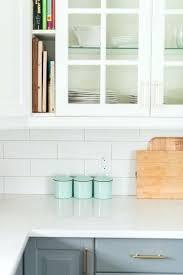 quartz countertops with backsplash a gray and white budget friendly kitchen makeover using cabinetry marble like quartz countertops with backsplash