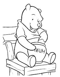 Winnie The Pooh 7 Disegni Per Bambini Da Stampare E Colorare By