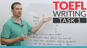 toefl writing task