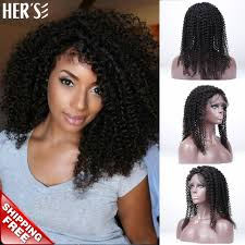 human hair lace front wigs black women full lace human hair wigs curly wig brazilian full lace wig with baby hair in human hair lace wigs from