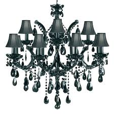 gallery chandeliers silver crystal trimmed chandelier