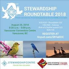 stewardship centre for bc registration is now open for stewardship roundtable 2018 stewardship centre for bc