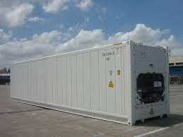 Sea Land Containers For Sale Shipping Refrigerated Goods Overseas In Temperature Controlled