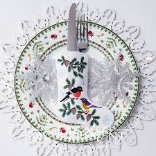 Ith Tension Chart Ith Christmas Stocking With Bullfinch And Tit For Cutlery
