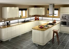 Cream Gloss Kitchen Kitchen Cabinets Cream Gloss Quicuacom