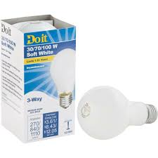 3 Way Incandescent Light Bulbs Do It A21 Soft White 3 Way Incandescent Light Bulb 322909 1 Each