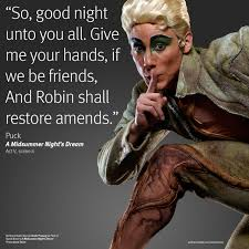 Puck Midsummer Night Dream Quotes
