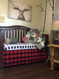 woodland baby bedding