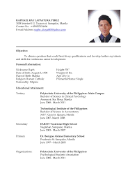 best ideas of sample resume for ojt computer science students in sheets - Sample  Resume For