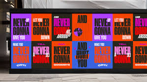 Design Design Song Songs And The City Typography Billboards On Behance