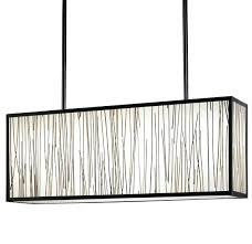 rectangular pendant light. Rectangle Pendant Light Rectangular Crystal .