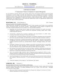 Corporate attorney Sample Resume