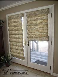 french doors with curtains. French Door Curtains Throughout And Blinds For Doors Decorate The House With E