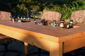 cool wooden beverage coolers