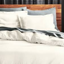 linen white king duvet cover