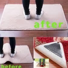 mat grips non slip rug gripper carpet reusable tape all floor types anti skid uk