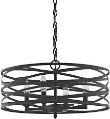 elk lighting 81185 4 vorticy oil rubbed bronze 4 light chandelier undefined