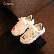 18 spring child sport shoes sneakers pu leather sneaker boys girls sneakers kids shoes ping in stan pk deals
