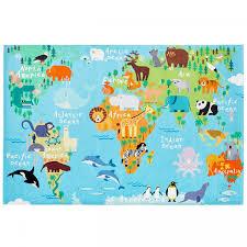 torino kids tok 233 world map rug 3