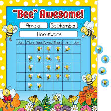 Incentive Charts For Students Bees Mini Incentive Charts And Stickers Kit