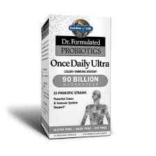 skip to the beginning of the images gallery description garden of life s once daily ultra probiotic