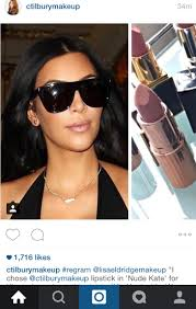 The Secret To Kim Kardashian s InStyle Beauty Awards Makeup Look.