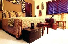 african style furniture. African Bedroom Decor Wooden Chest At The Foot Of Bed Themed Furniture Style G