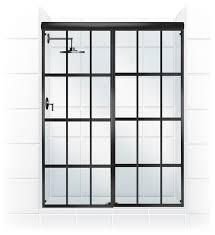 gridscape series sliding shower door