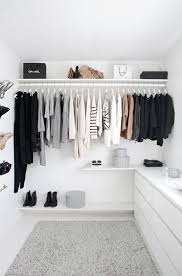Simple Closet Design Storage Ideas