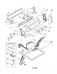 Diagram kenmore dryer wiring electric parts model sears partsdirect inside diagrams 80 series gas elite oasis