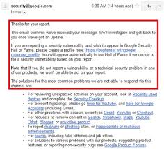 Or Fame – Of Google 3curityedge Bug Hall Mechanism