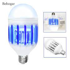 Behogar 2 in 1 elektrikli LED gece lambası böcek tuzağı ampul sivrisinek  kovucu katil ışık 15W vidalı lamba taban abd 110 V/ab 220V|us light|light  nightlight night led - AliExpress