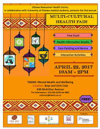 Health Fair Flyers 3rd Annual Multicultural Health Fair April 22nd Somerset West