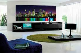 Delightful Apartment Living Room Wall Decorating Ideas Decor Small - Contemporary apartment living room