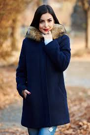 darkblue casual straight wool coat with undetachab s040474 1 393237 jpg