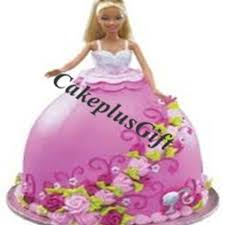 Strawberry Barbie Cake Cake Plus Gift Kondapur Hyderabad Bakeway
