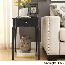 Daniella 1-drawer Wood Storage Accent Side Table by iNSPIRE Q Bold (