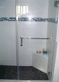 over shower door towel bar gallery image shower door towel bar bracket