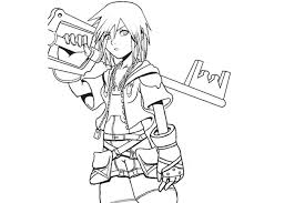 Small Picture Kingdom Hearts Characters Coloring PagesHeartsPrintable Coloring