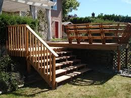cute outdoor stair railing kit