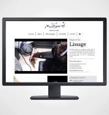 Cr Ation Site Internet Salon De Coiffure Paris Pierrick Mussard