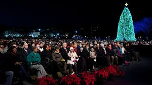 ... Large Size of Christmas: The Obama Family Lights National Christmas Tree  United States Post Office ...