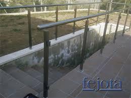 Barandillas Para Terrazas Y Escaleras  Interior Y Exterior Barandillas De Aluminio Para Exterior