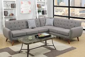 gray fabric sectional sofa. Honig Grey Fabric Sectional Sofa Gray H
