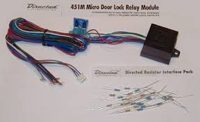dei 451m door lock module for alarms and remote starters